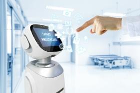 Robotic advisor service technology in healthcare  (© zapp2photo / fotoilia.com)