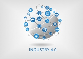 Industry 4.0 infographic (© iconimage / Fotolia.com)