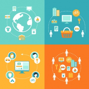 Sharing Economy and Collaborative Consumption (© juliabatsheva / Fotolia.com)