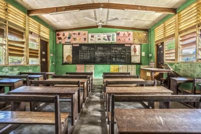 Classroom in Ghana (© malajscy / Fotolia.com)