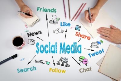Social Media Concept. (© tumsasedgars / Fotolia.com)