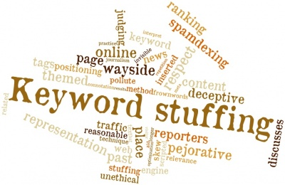Word cloud for Keyword stuffing (© intheskies / Fotolia.com)