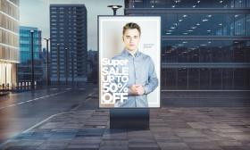 Advertising billboard. (© Georgejmclitte - Fotolia.com)