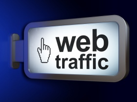 Website Traffic (© Maksim Kabakou / Fotolia.com)
