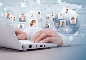 Symbol of social network (© Sergey Nivens / Fotolia.com)