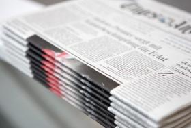 Newspaper masthead. (© Franz Pflügl - Fotolia.com)