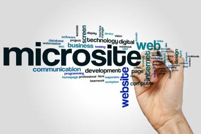 Word Cloud Microsite. (© Ibreakstock - Fotolia.com)