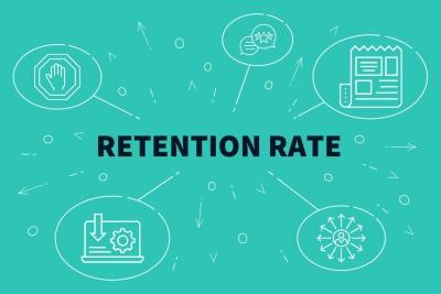 Retention Rate (© OpturaDesign / Fotolia.com)