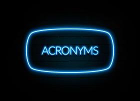 Acronym  (© Kaarle / Fotolia.com)