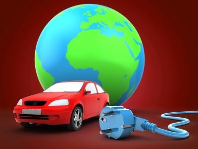 3d car with earth globe (© Maxim_Kazmin / Fotolia.com)